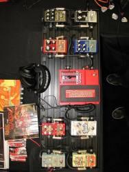 DigiTech + DOD SXSW 2016 Stompbox Exhibit Board