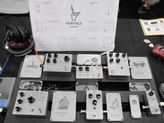 Fairfield Circuitry SXSW 2016 Stompbox Exhibit Board